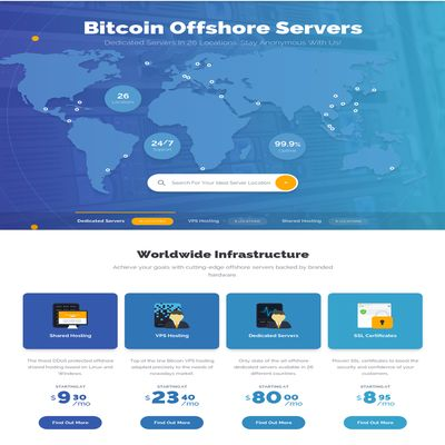 Bitcoin хостинг от Superbithost