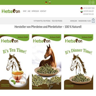 Уеб сайт на Herbacon GmbH